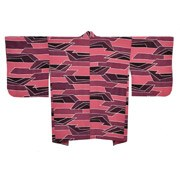 Pink Abstract Haori