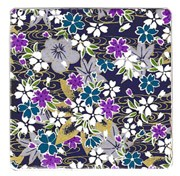 Purple Blossom Coaster x 1