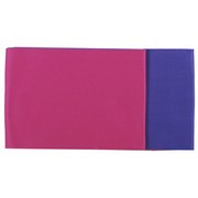 Reversible Japanese Obi Belt - pink and purple