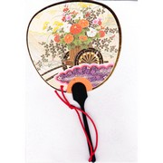 Scented Fan Card -  Flower Cart