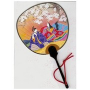 Scented Fan Card - Japanese nobles