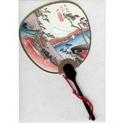 Scented Fan Card -  Ukiyo-e Scene